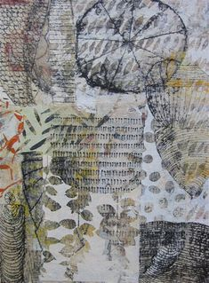 Duane Reed Gallery - Afro-Italian with Ties by Michael Lucero Collages, Collage Artists, Collage Art Mixed Media, Texture Art, Art Journal Pages, Art Lessons, Making Ideas, Printmaking, Illustration