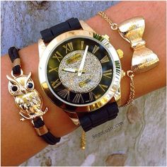 #Watch and #bracelets from www.gogolush.com #Padgram