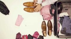 Five Travel Wardrobe Cheats with Tom James Company Travel Wardrobe, Men's Wardrobe, Tampa Florida, Fashion Videos, Custom Shirts, Toms, Oxford Shoes, Channel, Mens Fashion