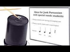 Bucket drumming lesson ideas for kids