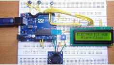 In this project, we designed an Arduino based Real Time Clock with alarm. A Real Time Clock or RTC is a battery powered clock that measures time even when there is no external power or the microcontroller is reprogrammed. An RTC displays clock and calendar with all timekeeping functions. The battery, which is connected to …