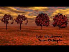 Poésie ... Soir d'automne ... de Jean Richepin ...