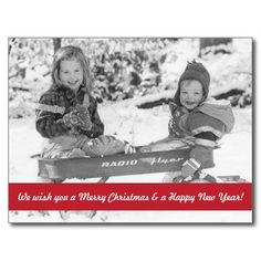 Vintage Holiday Wagon Kids Post Cards