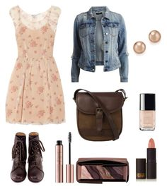 """""""Untitled #33"""" by mira-163 ❤ liked on Polyvore featuring RED Valentino, VILA, Hourglass Cosmetics, Chanel, Lipstick Queen, Chie Mihara, DUBARRY and Bloomingdale's"""