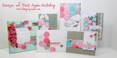 Stamping Rules!: New Product Blog Hop  Hexagon Card Workshop CTMH