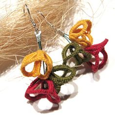 Loads of very beautiful tatted accessories !!! alveaenerle - radosna wytwórczość