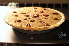 Sinfully Good Southern Pecan Pie - Sober Julie