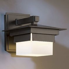 Bungalow Outdoor Wall Sconce by Hubbardton Forge at Lumens.com