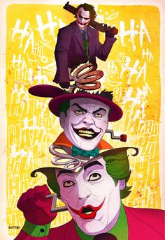Joker(s) bad ass art