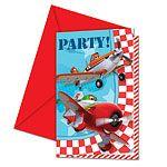 Invitations: Disney Planes Invitation Cards (6pk)