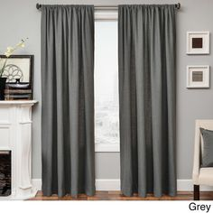 Softline Don 96-inch Rod Pocket Curtain Panel