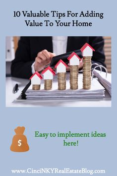 10 easy ways homeowners can add value and functionality to their home. Real Estate Articles, Real Estate Information, Home Selling Tips, Buying Your First Home, Home Buying Process, Planning Permission, New Homeowner, First Time Home Buyers, Home Improvement