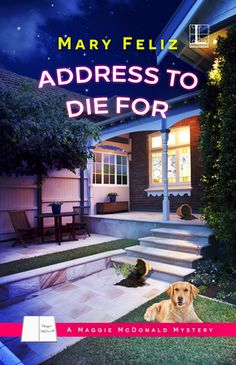 Address to Die For by Mary Feliz is the first book in A Maggie McDonald Mystery series. See what I thought about this new cozy mystery! http://bibliophileandavidreader.blogspot.com/2016/07/address-to-die-for.html
