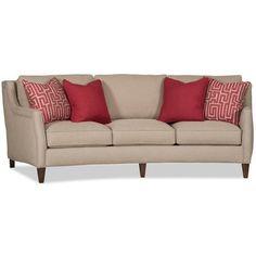 Sam Moore Crawford Sofa Finish: Classic, Upholstery: 2663 Linen