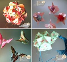 Things I could do with a ream of Japanese washi paper...I have a whole book on how to fold those gorgeous round paper sculpture things...