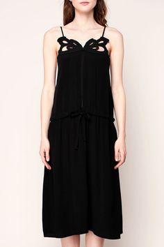 kurzes Kleider - Schwarz 2