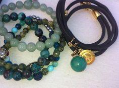 #02 Set of Bracelets by nunKI // Gemstone & Leather // #Menswear #Jewelry #Bracelet #Pulseira #Homem #Womenswear #Bijutaria