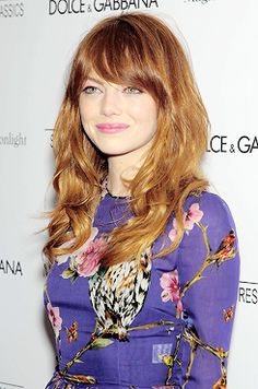 Magic In The Moonlight New York Premiere [Arriving ] - July 17 - 61 - Emma Stone Photo Gallery Magic In The Moonlight, Emma Stone Style, Shes Perfect, Natural Blondes, Hair Humor, Woman Face, Hair Looks, Celebrity Photos, Her Hair