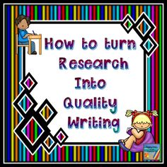 Digging Deep ... to Soar Beyond the Text: How to Turn Research Into Quality Writing