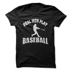 Real Men Play Baseball - #tshirt #cowl neck hoodie. ACT QUICKLY => https://www.sunfrog.com/Sports/Real-Men-Play-Baseball.html?68278