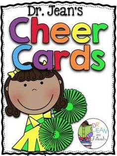 {typos fixed on This was made with permission and help from Dr Jean. This unit contains 50 of Dr. Jean& FAMOUS Cheer Cards, but these cards have been given a facelift and look better than EVER. Check out these other collaborations with Dr. Classroom Cheers, Preschool Classroom, Classroom Activities, Classroom Organization, Classroom Ideas, Preschool Songs, Music Classroom, Classroom Routines, Classroom Projects