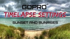 Here is a helpful video we created going over all the various time lapse setting on the GoPro Hero 5 Black and how to achieve the best results when capturing a sunset or sunrise time lapse. Use the…
