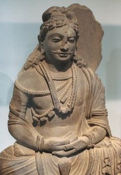 Buddha with moustache from Gandhara. Pakistan Paris,Musee  Guimet