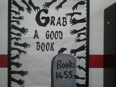 Library Displays: Grab a good book