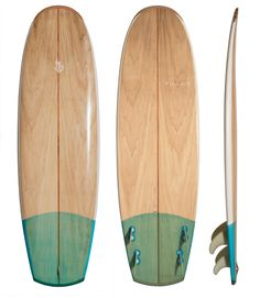 Stock boards (by Tilley Surfboards)