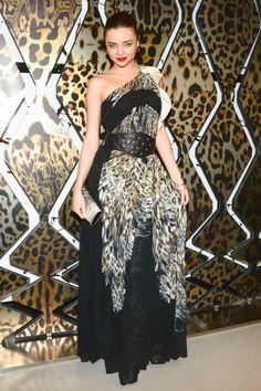 6ef9dc529082 Miranda Kerr wearing Just Cavalli at the Just Cavalli store opening in New  York City Miranda