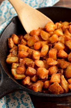Slimming Eats - Weight Watchers and Slimming World Recipes Syn Free Breakfast Home Fries (Actifry or Oven) Slimming World Vegetarian Recipes, Vegan Slimming World, Slimming World Breakfast, Slimming Eats, Healthy Recipes, Slimming Recipes, Healthy Meals, Free Recipes, Air Fryer Recipes Slimming World