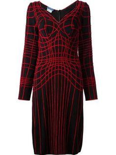 web embroidered dress