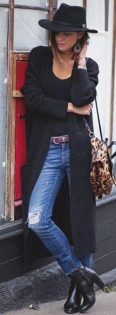 Les Babioles De Zoe Leo Shoulder Bag Fall Street Style Inspo