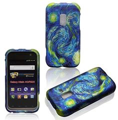 Buy Blue Design Samsung Galaxy Attain 4G R920 MetroPCS Case Cover Hard Phone Case Snap-on Cover Rubberized Touch Faceplates NEW for 3.99 USD | Reusell