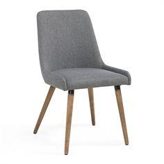 $216 Worldwide Home Furnishings 202-247 !nspire Fabric Side Chair (Set of 2)