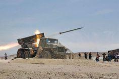 grad_l3 Bm 21 Grad, Red Army, Modern Warfare, War Machine, Middle East, World War, 21st, Military, Fire