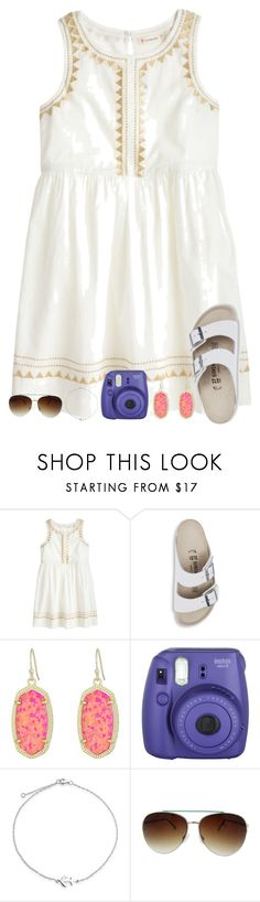 """Found a random pillow in my room?"" by sweet-n-southern ❤ liked on Polyvore featuring J.Crew, Birkenstock, Kendra Scott, Fujifilm, Bling Jewelry and Fantas-Eyes"
