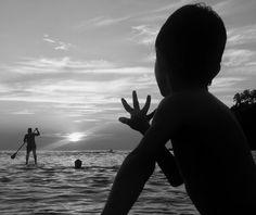 Puerto Escondido, Oaxaca. Mar, sol, cielo y paz.