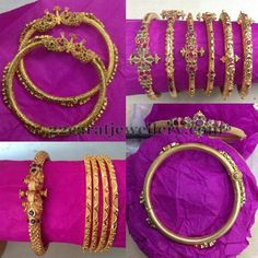 Latest Collection of best Indian Jewellery Designs. Jewelry Design Earrings, Gold Earrings Designs, Gold Jewelry, Gold Designs, Gold Necklace, Indian Jewellery Design, Indian Jewelry, Jewellery Designs, Gold Bangles Design