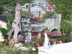 Hounted House  Miracle Strip Amusement Park, Panama City Beach, Florida  by stevesobczuk, via Flickr