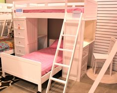 Student loft bed from cribs2bunks, Grand Rapids.