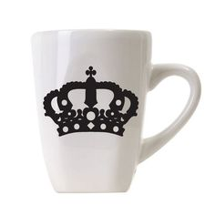 His Hers King Queen coffee mugs Coffee Tea Hot by CoutureNaturally, $20.99