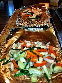 Cookin' in Heels: Tin-foil Grilled Tilapia