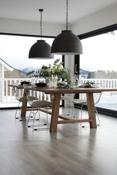 Eikebord fra www. Decor, Rust, Furniture, Table, Home, Dining, Dining Room, Home Decor, Room