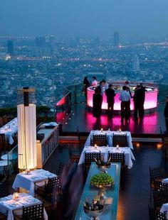 Hangover Hotel Rooftop Bar, Rooftop Bar Bangkok, Best Rooftop Bars, Hotel S, Outdoor Restaurant Design, Restaurant Bar, Places To Travel, Places To See, Travel Destinations
