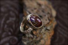 Boulder Opal Stone set in Sterling SilverRing by RoseMetalsJewelry, $95.00