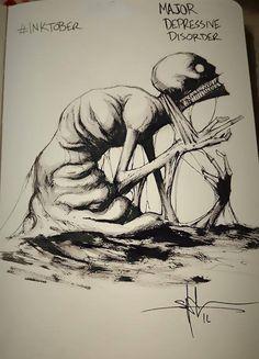 10 Enfermedades mentales representadas en ilustraciones. - Taringa!
