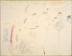 Cy Twombly | The Second Part of the Return from Parnassus | The Art Institute of Chicago