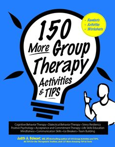 Chock full of handouts, worksheets and activities for group and individual clinicians and their clients. Click this link for free downloadable worksheets on my site www.belmontwellness.com