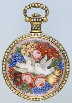 Beautiful outer watch case.